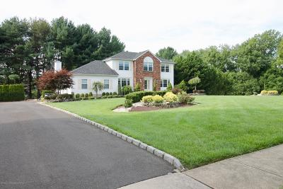 Freehold Single Family Home Under Contract: 5 Seminole Court