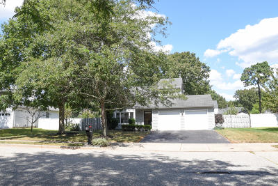 Ocean County Single Family Home For Sale: 33 Bunker Hill Drive