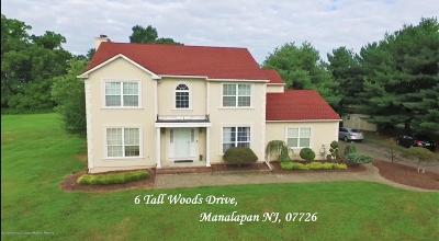 Manalapan Single Family Home For Sale: 6 Tall Woods Drive