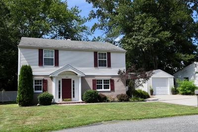 Neptune Township Single Family Home Under Contract: 109 Center Street