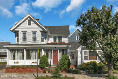Ocean Grove Single Family Home For Sale: 147 Broadway