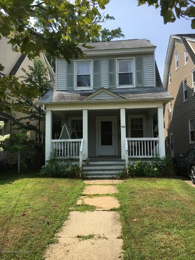 Asbury Park Single Family Home For Sale: 406 2nd Avenue