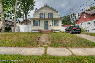 Asbury Park Single Family Home Under Contract: 1205 Pine Street