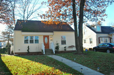Hazlet Single Family Home For Sale: 22 9th Street