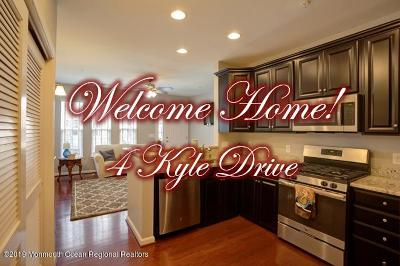 Tinton Falls Condo/Townhouse For Sale: 4 Kyle Drive