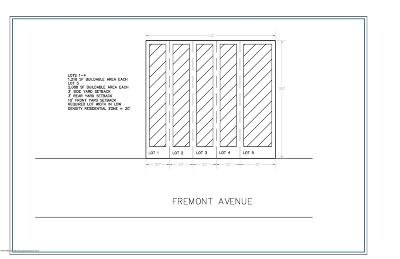 Residential Lots & Land For Sale: 255 Fremont Avenue