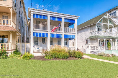 Ocean Grove Single Family Home For Sale: 5 Main Avenue
