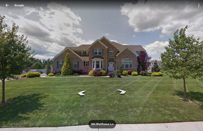 Ocean Single Family Home For Sale: 484 Matthews Lane