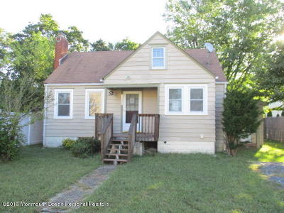 Toms River Single Family Home For Sale: 1506 Larchmont Street