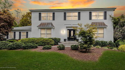 Holmdel Single Family Home For Sale: 15 Huntley Road