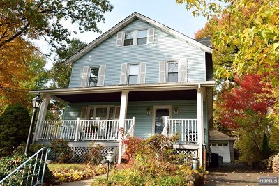 Cresskill Single Family Home For Sale: 199 9th Street