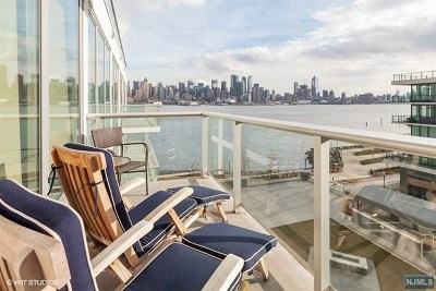 Weehawken NJ Condo/Townhouse For Sale: $1,345,000