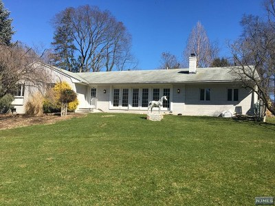 Closter Single Family Home For Sale: 315 Schraalenburgh Road
