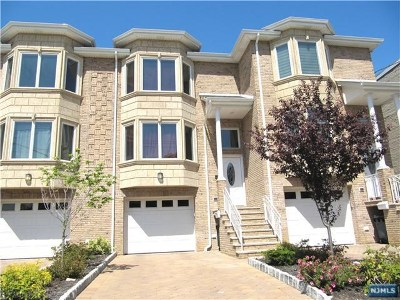Cliffside Park Condo/Townhouse For Sale: 247 Day Avenue