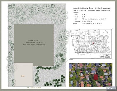 Englewood Cliffs Residential Lots & Land For Sale: 29 Roslyn Avenue