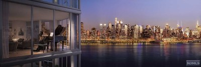 West New York Condo/Townhouse For Sale: 9 Ave At Port Imperial #314