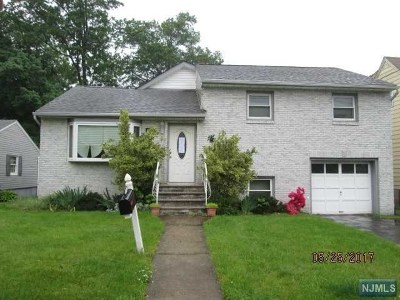 Nutley NJ Single Family Home For Sale: $339,900