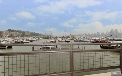 Weehawken NJ Condo/Townhouse For Sale: $645,000