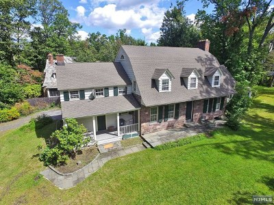 Bergen County Single Family Home For Sale: 343 Hillcrest Road