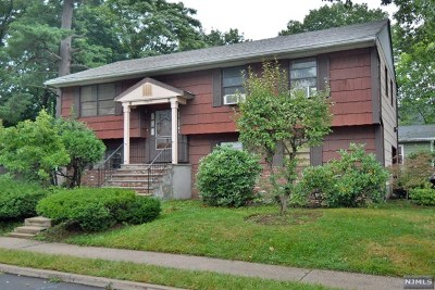 Englewood Single Family Home For Sale: 61 Tenafly Road