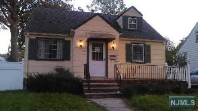 Hillside NJ Single Family Home For Sale: $150,000