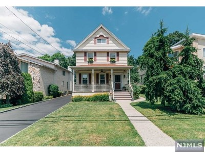 Englewood Cliffs Single Family Home For Sale: 13 Irving Avenue