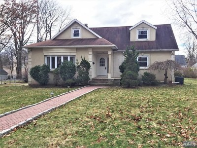 Tenafly Single Family Home For Sale: 188 Hickory Avenue