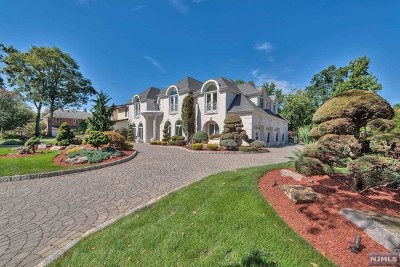 Englewood Cliffs Single Family Home For Sale: 10 Carol Drive
