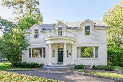 Englewood Single Family Home For Sale: 191 Glenwood Road