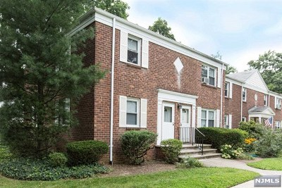 Englewood Condo/Townhouse For Sale: 178 Central Avenue #F