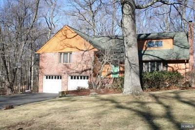 Upper Saddle River Single Family Home For Sale: 27 Old Chimney Road