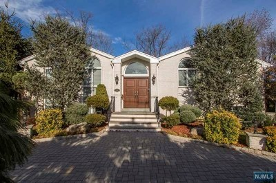 Englewood Cliffs Single Family Home For Sale: 18 Jean Drive