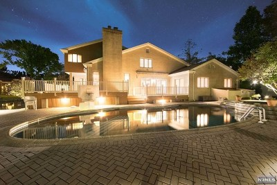 Englewood Cliffs Single Family Home For Sale: 185 Pershing Road