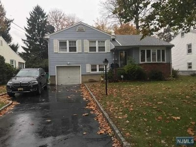 North Plainfield NJ Single Family Home For Sale: $189,000