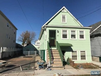Hillside NJ Multi Family 2-4 For Sale: $260,000