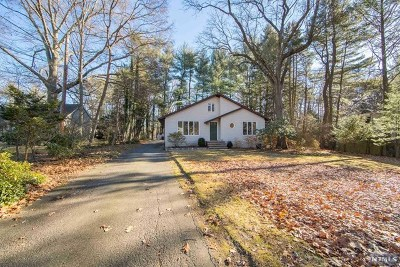 Woodcliff Lake Single Family Home For Sale: 5 Ackerman Avenue