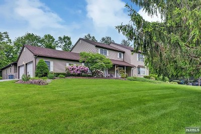 Mahwah Single Family Home For Sale: 15 Cobbler Lane