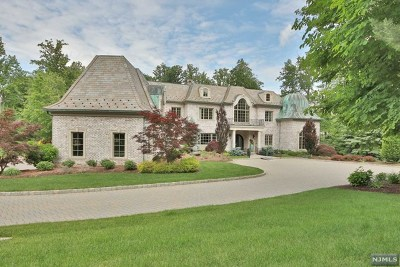 Saddle River NJ Single Family Home For Sale: $6,995,000