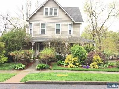 Englewood Single Family Home For Sale: 64 Hillside Avenue
