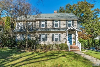 Oradell Single Family Home For Sale: 519 1st Street