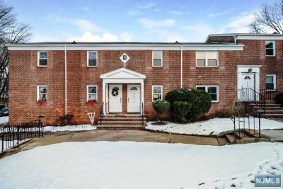 Englewood Condo/Townhouse For Sale: 161 Knickerbocker Road #C