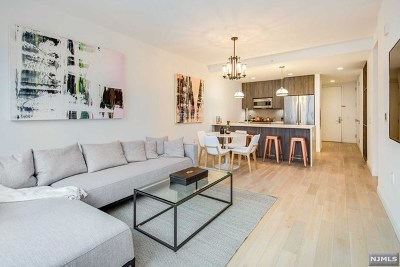 Jersey City Condo/Townhouse For Sale: 160 1st Street #411