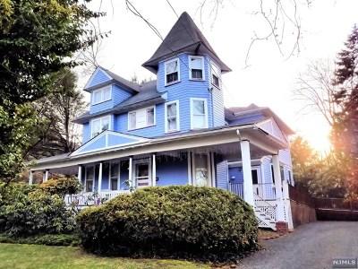 Demarest Single Family Home For Sale: 17 Van Horn Street