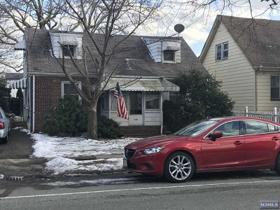 Bloomfield NJ Single Family Home For Sale: $135,000