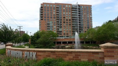 Edgewater Condo/Townhouse For Sale: 201 Hudson Park #201