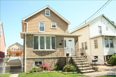 Secaucus Single Family Home For Sale: 822 9th Street