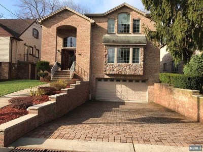 Englewood Cliffs Single Family Home For Sale: 46 Irving Avenue