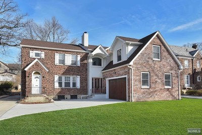 Fort Lee Single Family Home For Sale: 1138 Palisade Avenue
