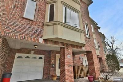 Cliffside Park Condo/Townhouse For Sale: 53 Marion Avenue