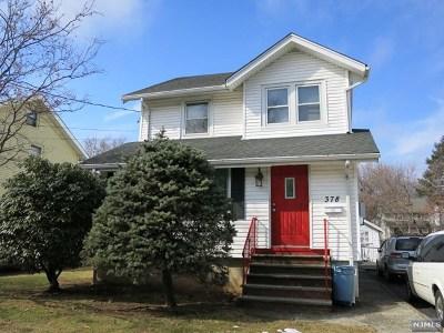 Teaneck Single Family Home For Sale: 378 Beech Street